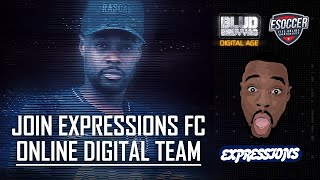 SIGN UP FOR EXPRESSIONS FC NOW!! I NEED YOU CHAMPAGNE FOOTBALL  WORLDWIDE!! LINK IN BIO