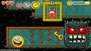 Red Ball 4 with yellow Ball Ep-10 Time Race