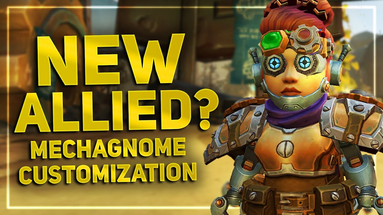 Will Mechagnomes be the Next World of Warcraft Allied Race?