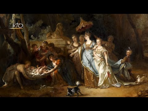 Moïse sauvé des eaux de Nicolas de Largillierre