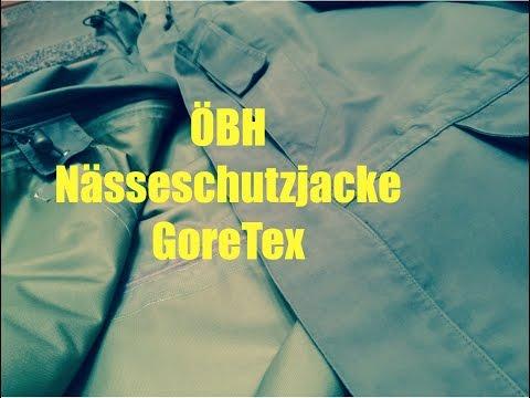 Bundesheer GoreTex Nässeschutzjacke