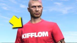 Change Kifflom T-Shirt Color | GTA Online Rare Custom Clothing