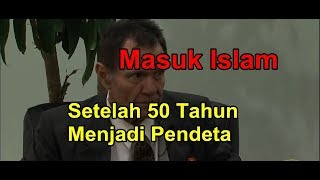 DAVID MANTAN PENDETA AMERIKA 50 TAHUN MASUK ISLAM KRN MEMBACA KEDATANGAN NABI MUHAMMAD DALAM ALKITAB