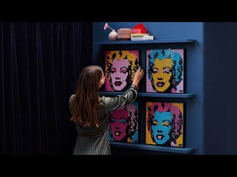 Vidéo LEGO Art 31197 : Andy Warhol's Marilyn Monroe
