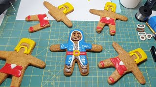 Behind The Scenes Of A Gingerbread Village Mayhem!