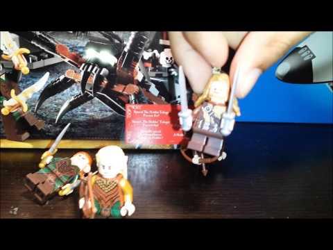 Vidéo LEGO Le Hobbit 79001 : Les araignées de la forêt de Mirkwood