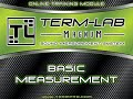 How To Perform a Basic Measurement with Term-LAB
