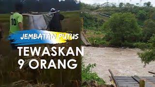 Berniat Saksikan Banjir, 9 Warga Tewas saat Jembatan Gantung di Bengkulu Putus