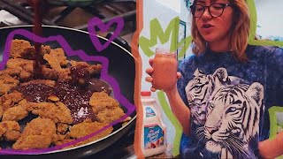 what a week of food looks like when you're vegan & eat what you want (FALL EDITION)