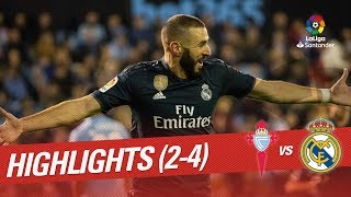 Highlights RC Celta vs Real Madrid (2-4)