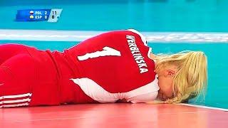 deportes  momentos fuertes en el voleibol