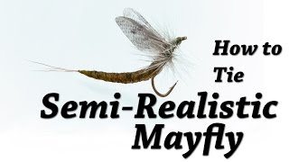 Semi Realistic Mayfly by Kevin Hospodar See more