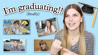 GRADUATING COLLEGE AT 25! 🎉 ~this messy process took me six years~