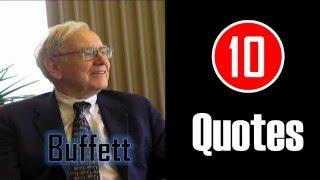 [10 Quotes] Warren Buffett - Never Lose Money