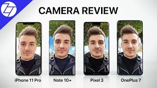 iPhone 11 Pro vs Note 10+ vs Pixel 3 XL vs OnePlus 7 Pro – The ULTIMATE Camera Comparison!