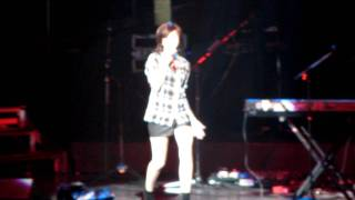 Christina Grimmie - Only Girl/ Not Fragile - We Own The Night Tour - 9/10/11