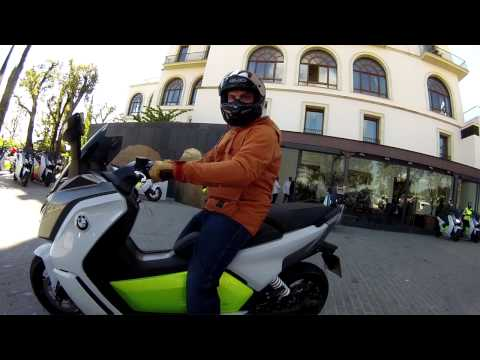 Future Commuter - BMW C evolution 2014 | First Ride | Motorcyclenews.com