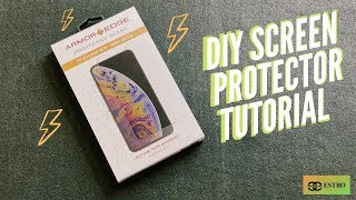 How to Install the Armor Edge Protective Glass Best Screen Protector for iPhone 11 Pro Max