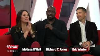 Melissa O'Neil, Richard T. Jones and Eric Winter discuss their new show