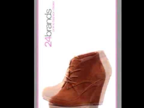 Luxus Damen Keilabsatz Winter Stiefeletten High Boots Wildleder-Imitat in Braun 1715