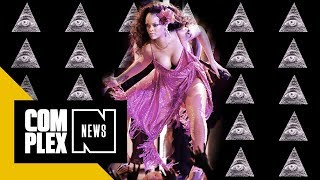 Religious Group Is Convinced Rihanna Is Part of the Illuminati