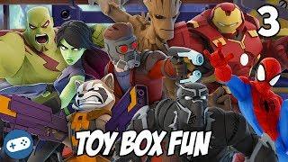 Avengers Infinity War Disney Infinity Toy Box Fun Gameplay Part 3