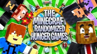 The Minecraft Randomized Hunger Games! #3 - Minecraft Modded Minigames | JeromeASF