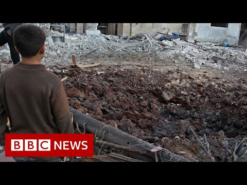 Download Syria war: Strikes on Idlib 'target schools and hospitals' - BBC News Mp4 HD Video and MP3