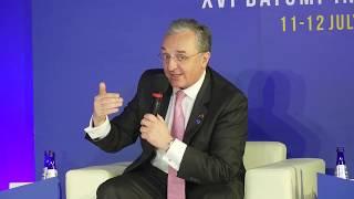 Выступление министра иностранных дел Мнацаканяна в рамках 16-й Батумской международной конференции