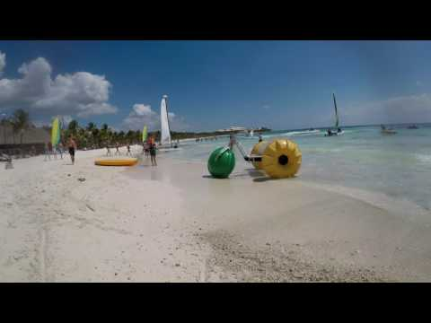 Barcelo Beach Time Lapse
