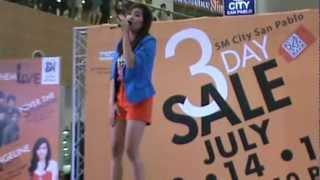 Bakit ba minamahal kita by Angeline Quinto Live