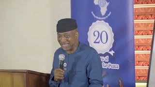 Humanity without the United Nations ' Ayo Olukanni'| Nigeria Youth4PeaceForum 2019