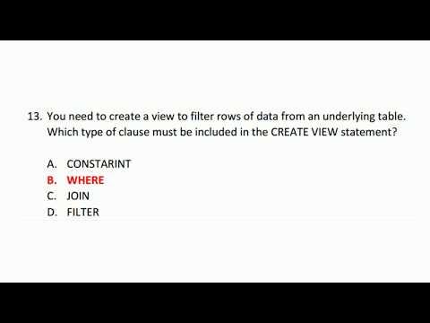 Soal dan Kunci Jawaban Sertifikasi Microsoft MTA ... - YouTube