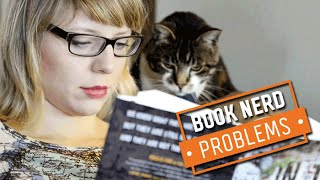 Book Nerd Problems | Cats Are Book Hogs