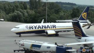 Как самолеты садятся HD(1080p)