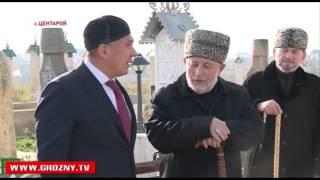 Чеченскую Республику посетил Президент Татарстана Рустам Минниханов