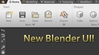 nova interface mais amigável ainda vem para o blender 3d