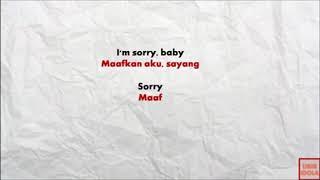 SORRY - JUSTIN BIEBER - LIRIK LAGU DAN TERJEMAHAN BAHASA INDONESIA (COVER)