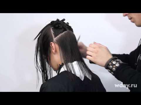 Стрижка каре на средние волосы часть 2 by Дмитрий Микеров
