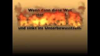 preview picture of video 'Hinter jeder Wut liegt ein Schmerz und die Trauer'