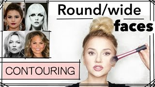 Round/Wide Faces - PART 7 (CONTOURING SERIES)