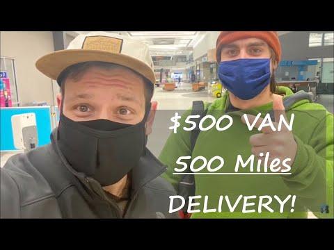 Driving $500 Van up To Lee Jones - 500 Miles Away! - Did it make it? | Road Trip Time!
