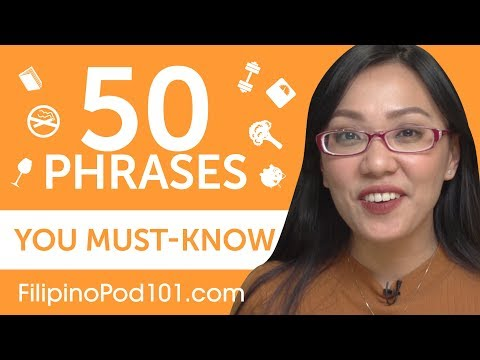 50 Phrases Every Filipino Beginner Must-Know - YouTube