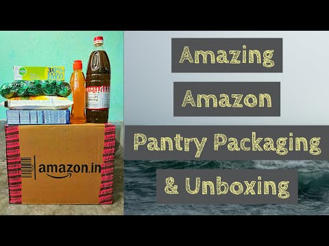 Amazing Amazon Pantry Packaging & Unboxing