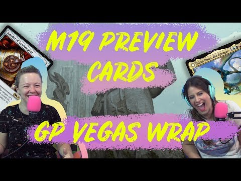 M19 EXCLUSIVE Preview Card, Grand Prix Vegas Tournament Report + More | Magic the Gathering