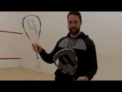 VIDEO: NEW Prince Pro Rebel 950 Nicol David's squash racket 2014 Squash Racket Review by PDHSports