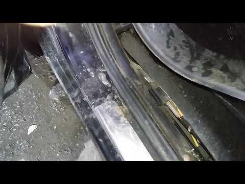 Как снять пластиковые порожки на а/м ниссан кашкай
