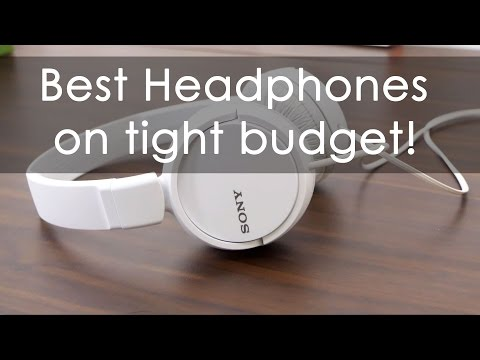 Best Budget Headphone from Sony? MDR-ZX110A Review