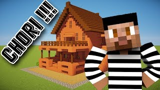 I STOLE A HOUSE IN MINECRAFT