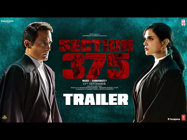 Section 375 movie review: Richa Chadha, Akshaye Khanna play off each other well in this nuanced film